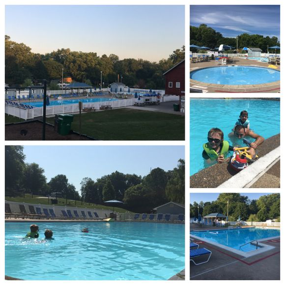 Hersheypark Camping Resort Pool