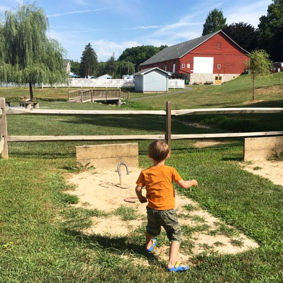 Horseshoes at Hersheypark Camping Resort
