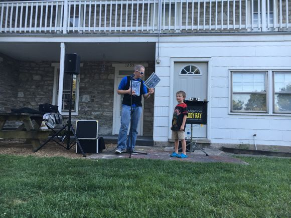 Magic Show at Hersheypark Camping Resort