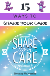 15 Ways to Share Your Care