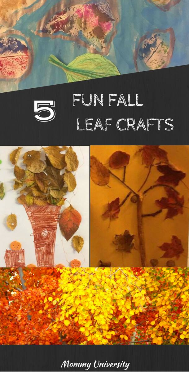 Fall Leaf Crafts