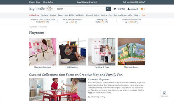 hayneedle-website