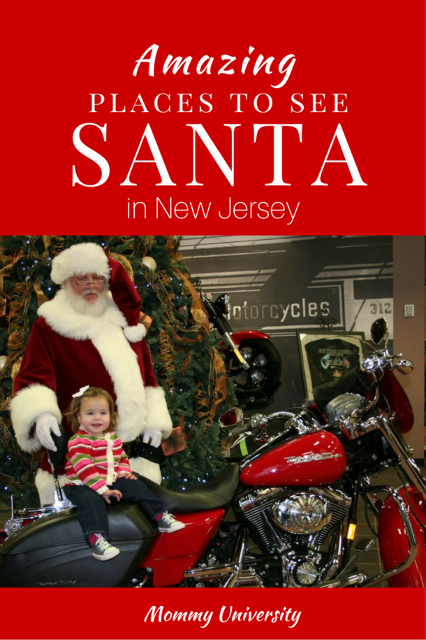 Amazing Places to See Santa in NJ
