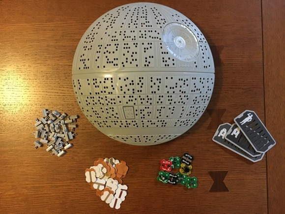 Death Star Lab Pieces