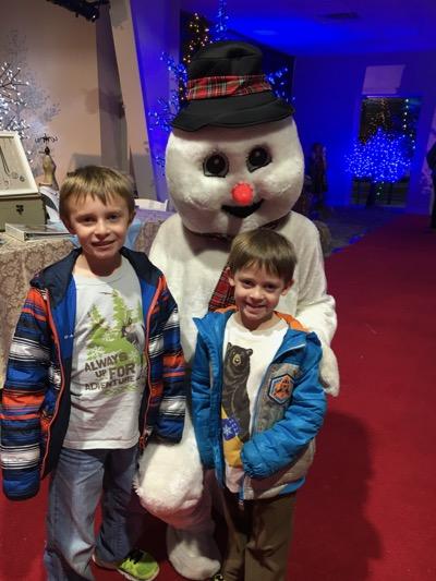Frosty at Skylands