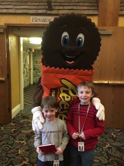 Meeting Reese's at The Hershey Lodge