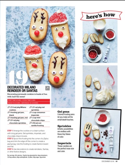 I can't wait to set up a cookie decorating station for Christmas like this one!