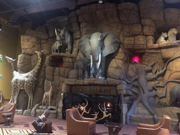 Kalahari Fireplace