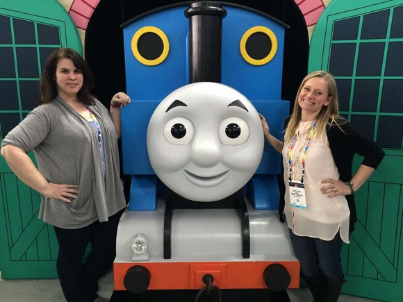 Jess and Monica with Thomas