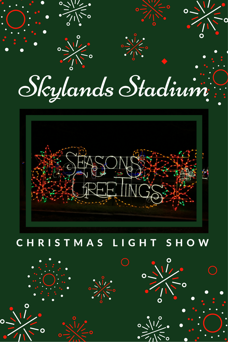 Skylands Stadium Christmas Light Show