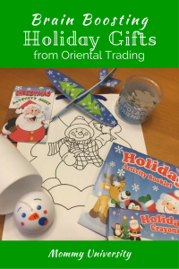 Brain Boosting Holiday Gifts from Oriental Trading