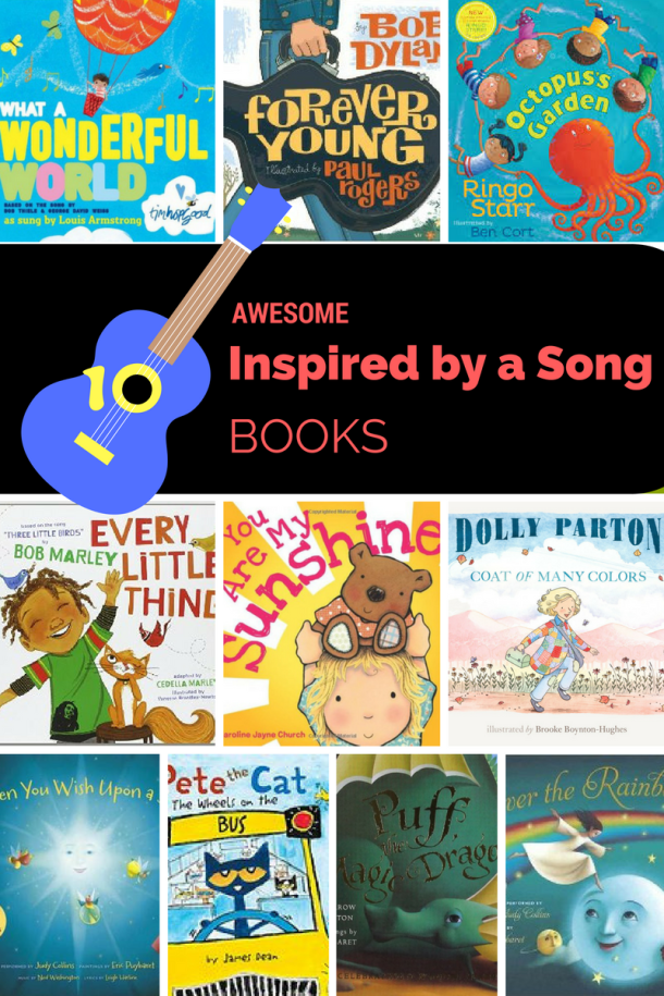 Awesome Books Inspired by a Song