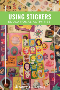 Using Stickers: Educational Activities