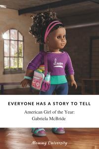 American Girl of the Year Gabriela McBride