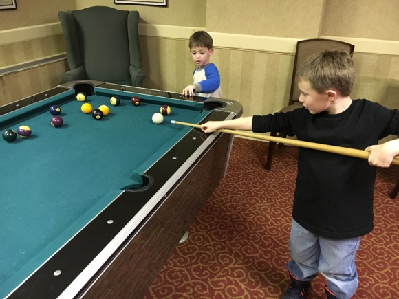 Shawnee Inn Pool Table