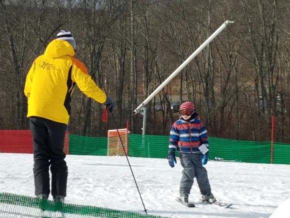 Learning to Ski at Shawnee