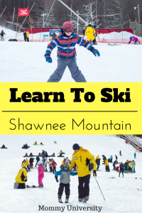 Learn To Ski at Shawnee Mountain