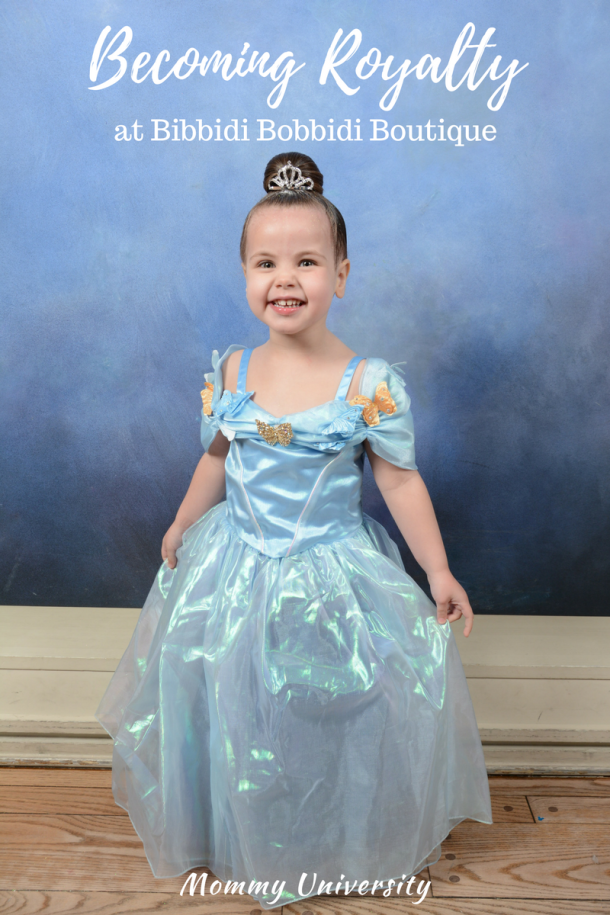 Becoming Royalty at Bibbidi Bobbidi Boutique