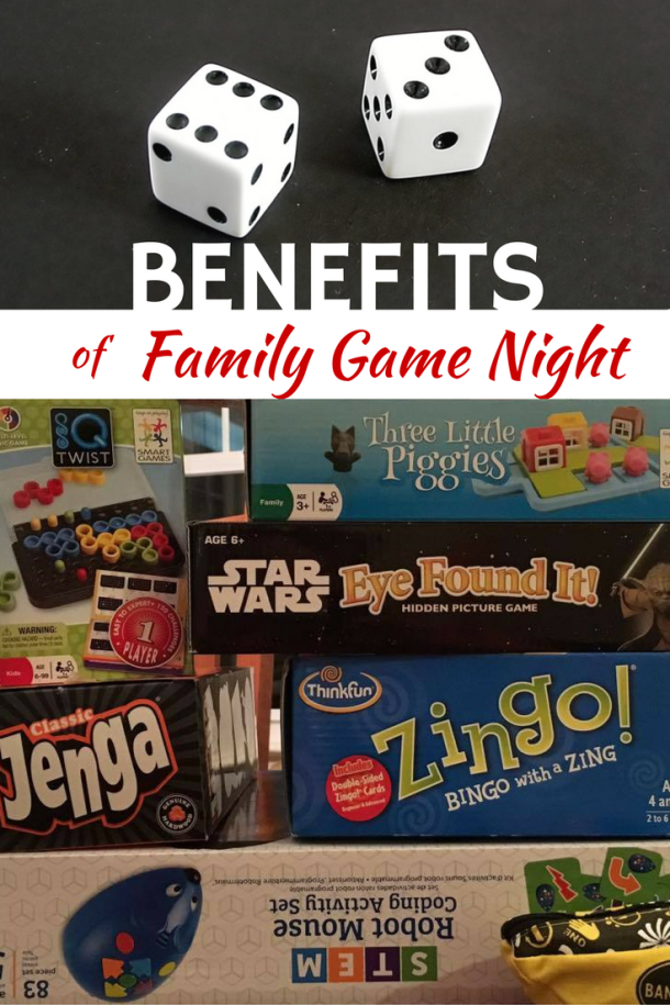 Benefits of Family Game Night