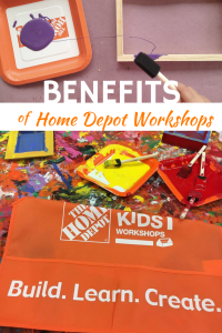 Benefits of Home Depot Kids Workshops