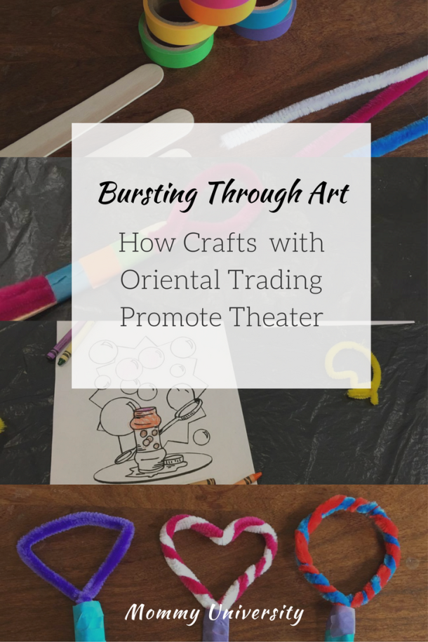 Bursting Through Art: How Crafts with Oriental Trading Promote Theater