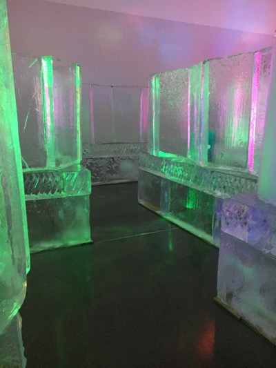 Frozen In Ice Maze