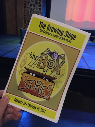 The Box of Stories Playbill