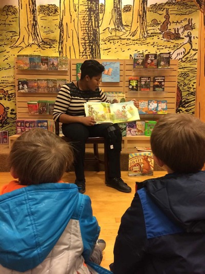 Story Time at Barnes and Noble