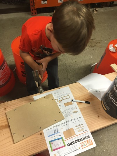 Follow Directions at Home Depot