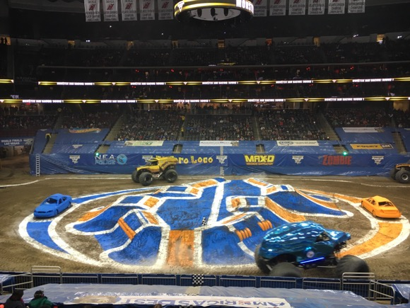 Monster Jam Race