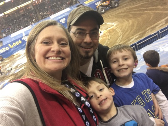 Family Fun at Monster Jam
