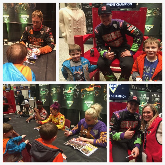 Meeting Monster Jam Drivers