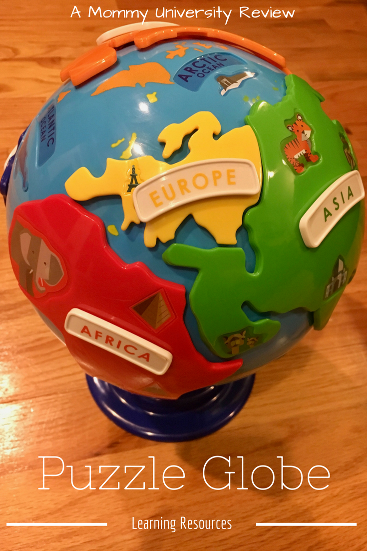 Puzzle Globe from Learning Resources