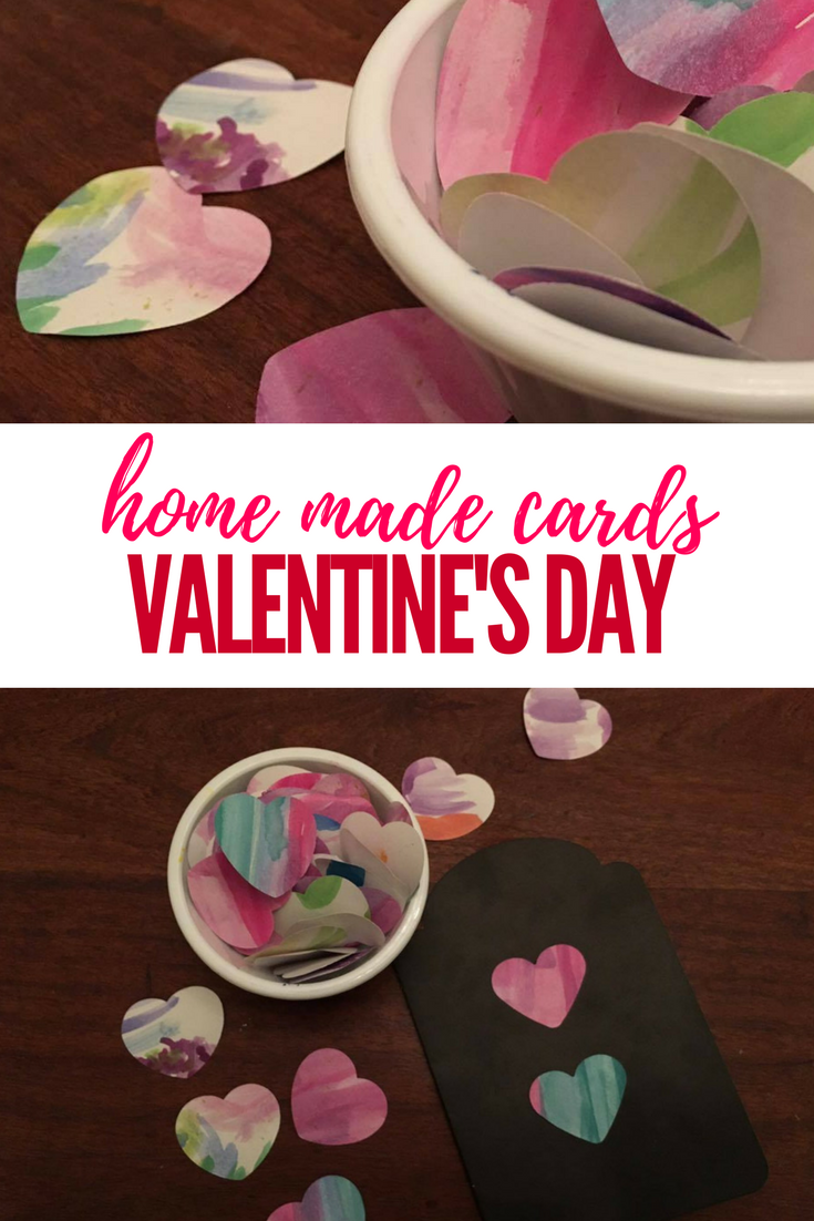 Home Made Valentine's Day Cards
