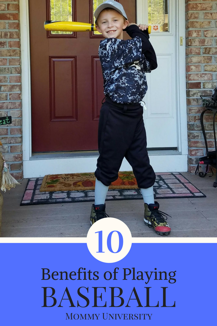 10 Benefits of Playing Baseball