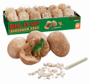 Dig It Up Dino Eggs Packaging wProduct