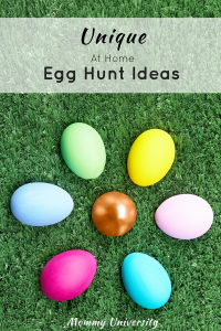 Unique at Home Egg Hunt Ideas