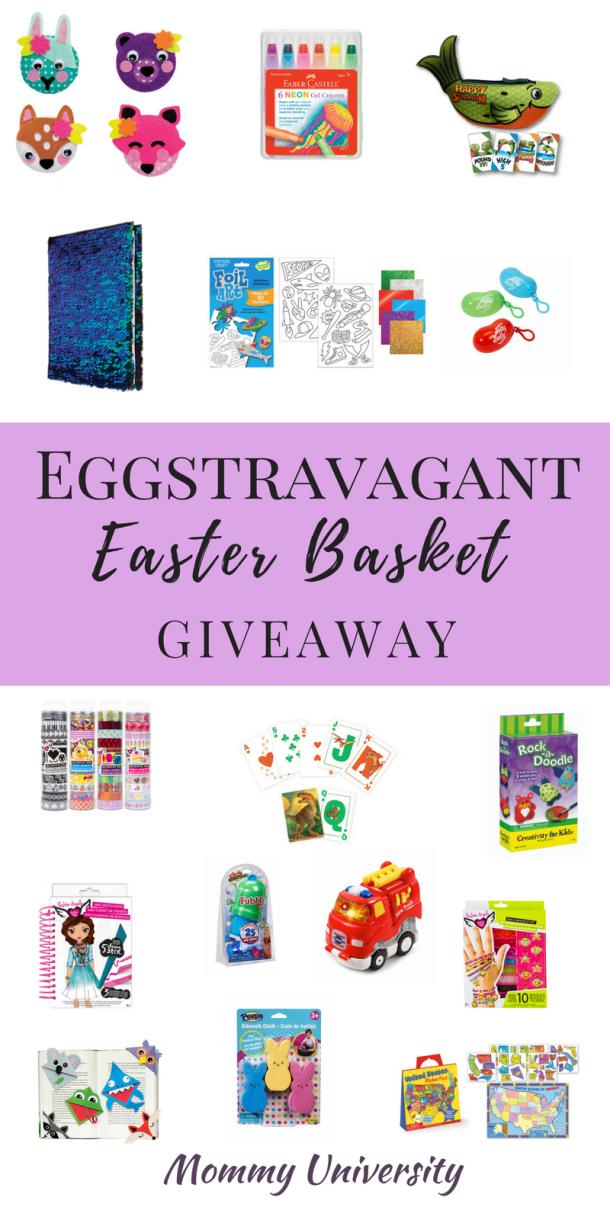 Eggstravagant Easter Basket Giveaway
