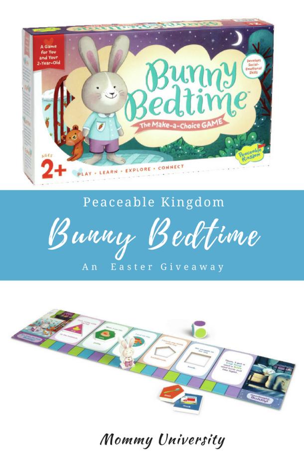 PK Bunny Bedtime Giveaway