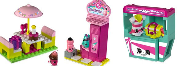 Shopkins Kinstructions Mini Sets