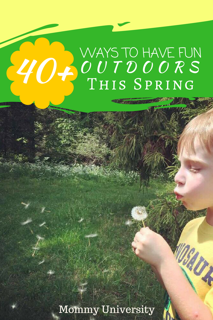 Ways to Have Fun Outdoors This Spring