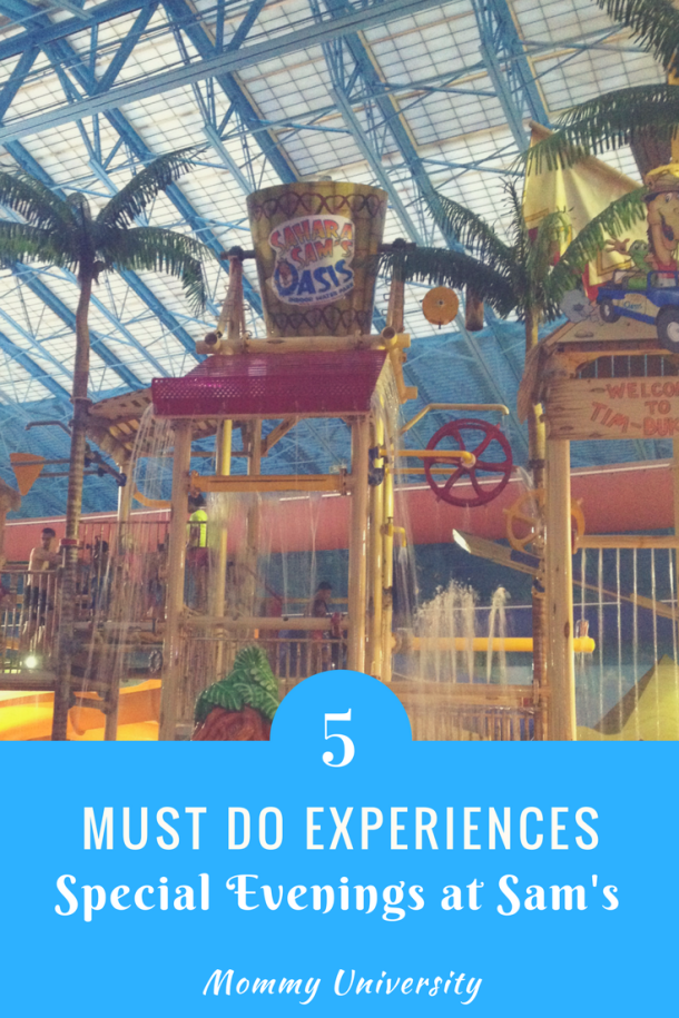 5 Must Do Experiences at Sam's