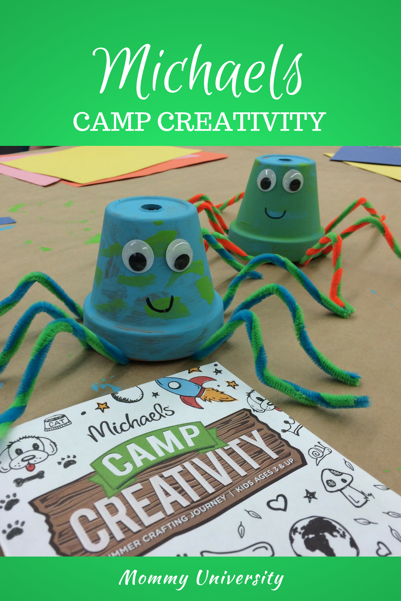 Camp Creativity at Michaels