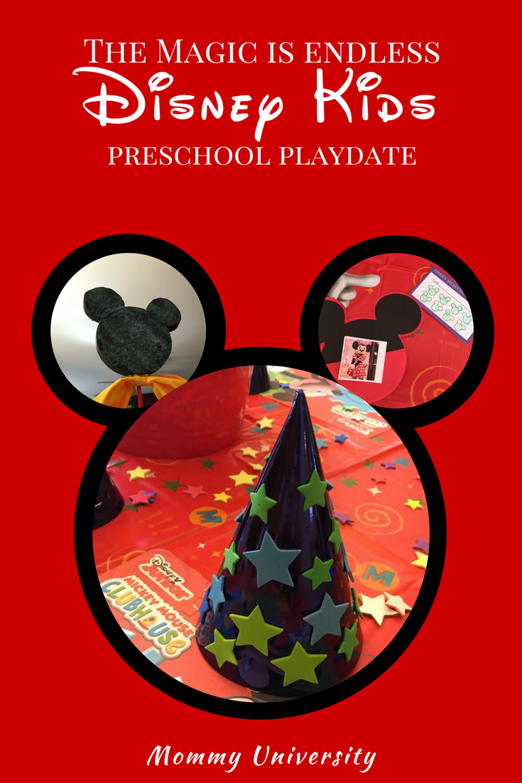 Disney Kids Preschool Playdate Feature Graphic