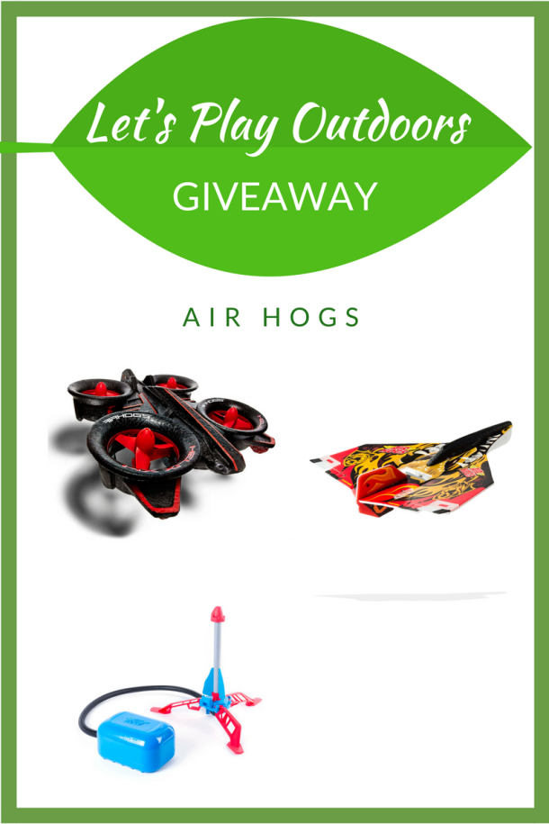 Let's Play Outdoors Giveaway Air Hogs Giveaway