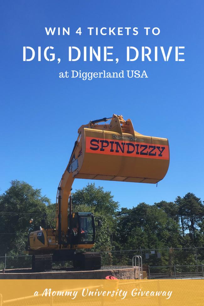 Dig Dine Drive Giveaway