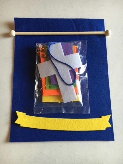 Oriental Trading Banner Kit
