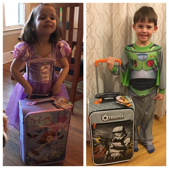 DisneyKids American Tourister Suitcases