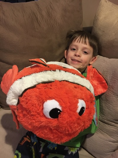 Nemo Pillow Pet