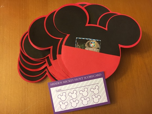 Disney Kids Hidden Mickey Hunt